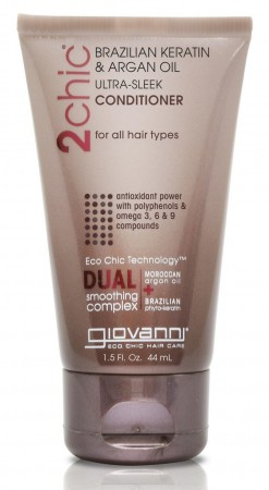 GIOVANNI 2Chic Ultra Sleek Brazilian Keratin and Argan Oil Conditioner Travelsize
