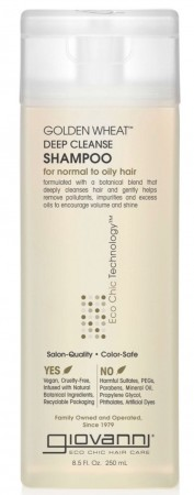 GIOVANNI Golden Wheat Deep Cleanse Shampoo