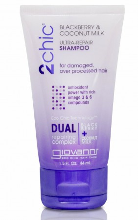 GIOVANNI 2Chic Repairing Blackberry and Coconut Milk Shampoo Travelsize