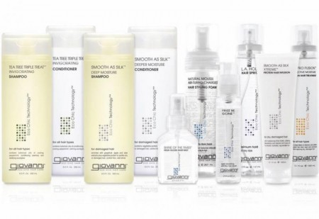 GIOVANNI ECO CHIC Hair Care and Styling