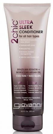 GIOVANNI 2Chic Ultra Sleek Brazilian Keratin and Argan Oil Conditioner