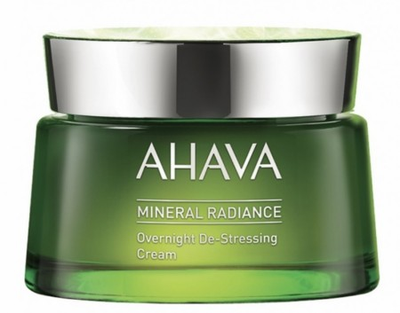AHAVA Mineral radiance night de-stressing cream
