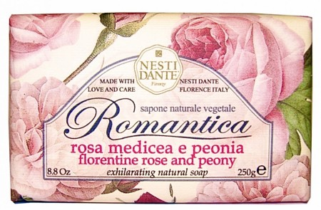 NESTI DANTE Rose and Peony  Soap