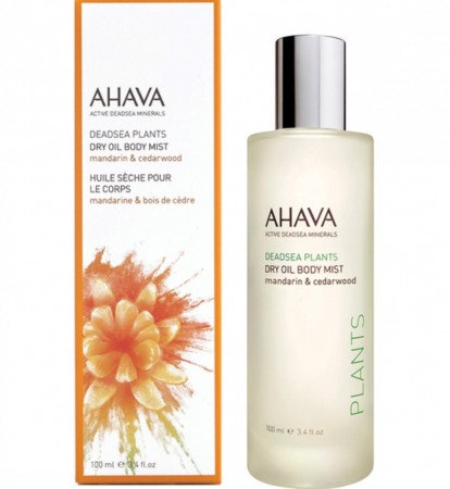 AHAVA Mandarin and Cedarwood Dry Oil Body Mist