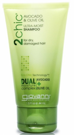 GIOVANNI 2Chic Ultra Moist Avocado and Olive Oil Shampoo Travelsize