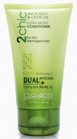 GIOVANNI 2Chic Ultra Moist Avocado and Olive Oil Conditioner Travelsize