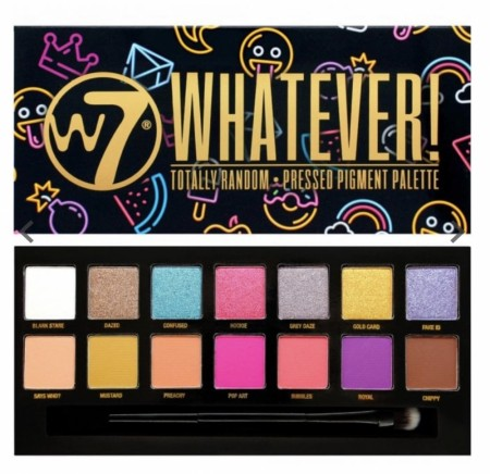 W7 WHATEVER! Makeup palette